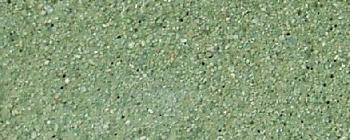 Feinsandguss Sandstrahleffekt grün 3