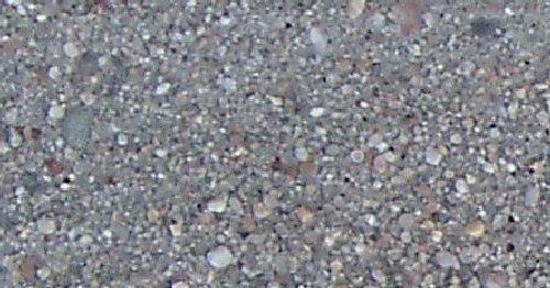 Sandguss Sandstrahleffekt grau