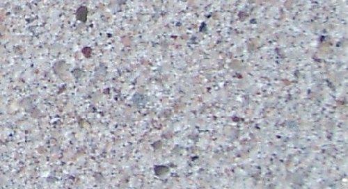 Sandguss Sandstrahleffekt weiß
