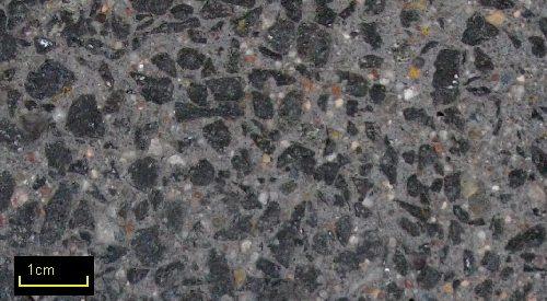 Sandstrahleffekt BASALT 35 Anthrazit 2