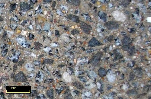 Sandstrahleffektbeton Granit_Grau / Basalt MIX 35 grau