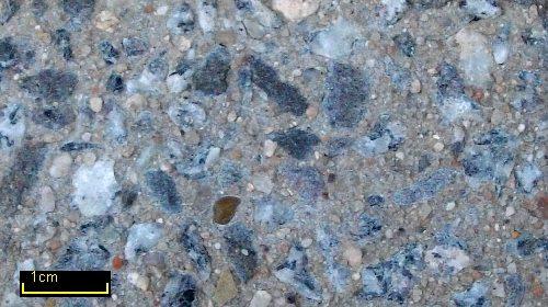 Sandstrahleffekt Granit grau 58