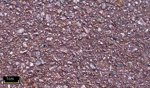 Sandstrahleffekt Granit 35 rotbraun 3-3