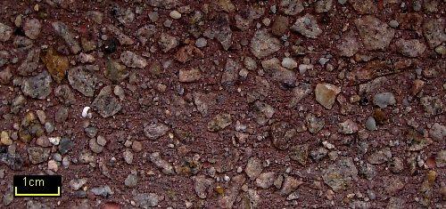 Sandstrahleffekt Granit Rot 58 braun 3