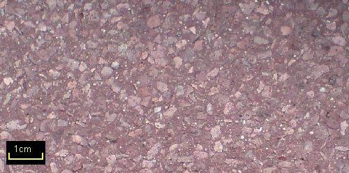 Sandstrahleffekt PORPHYR 35 Rotbraun 3-1