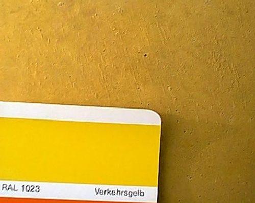 Sichtbeton schalungsglatt VERKEHRSGELB RAL 1023