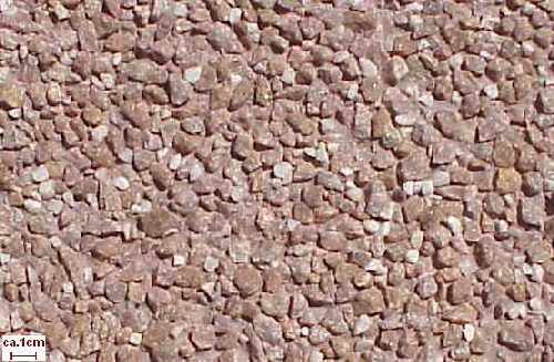 Granit Rot Einstreu Quarz Waschbeton GRL01