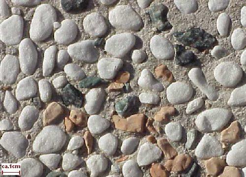 Marmor Waschbeton M3